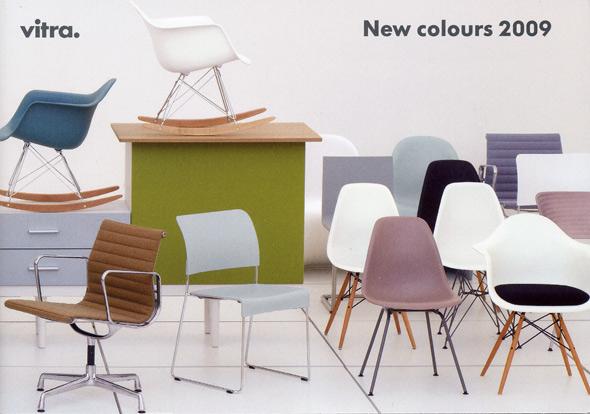 vitra - neue Farben 2009