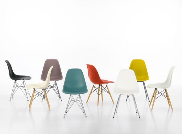Eames Plastic Side Chair, DSW, DSR und DSX