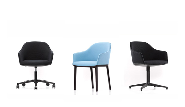 Softshell Chair vitra, Ronan and Erwan Bouroullec, 2008