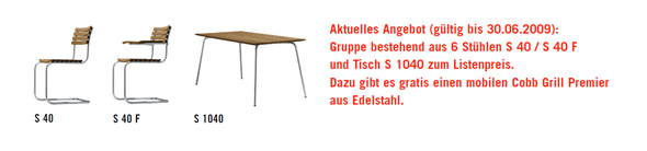 Thonet Aktionsmodelle