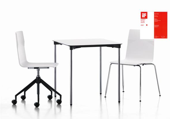 Designauszeichnung für den meet chair von Sedus
