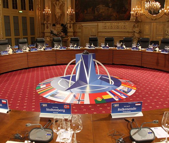Drehsessel Skape von vitra auf dem NATO Gipfel 2009