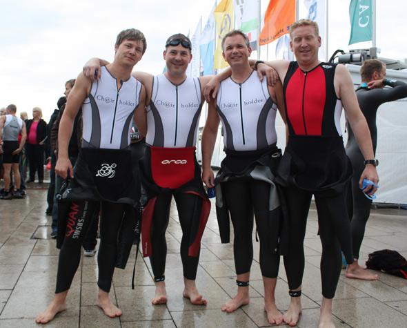 Team Chairholder von links: Patrick Wehnhardt, Rolf Gerlach, Andreas Hennig und Josef Arnold