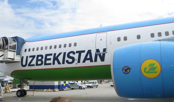 Uzbekistan Airllines in Frankfurt am Main