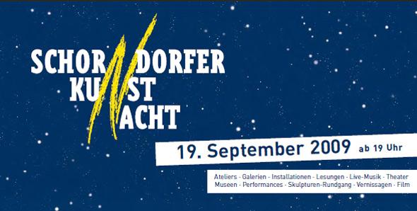 Kunstnacht 2009 Schorndorf