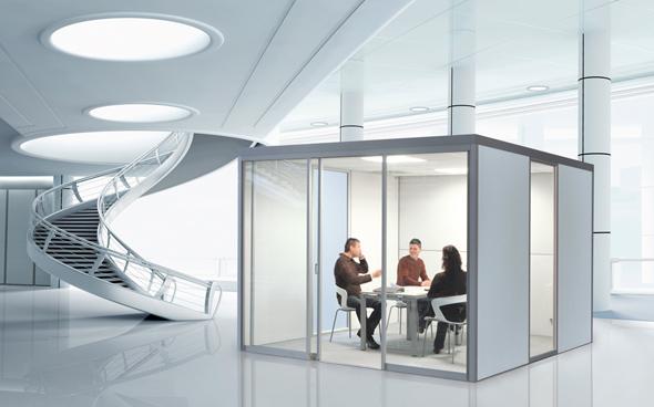 AOS Cube Line - Raum in Raum Systeme
