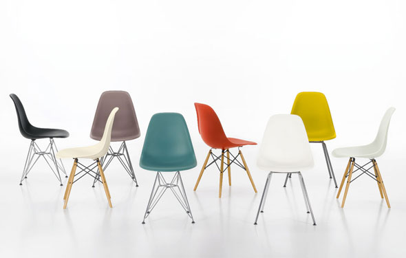 Eames Plastic Armchair : Vitra eames plastic side chair dsr sofort lieferbar bei chairholder