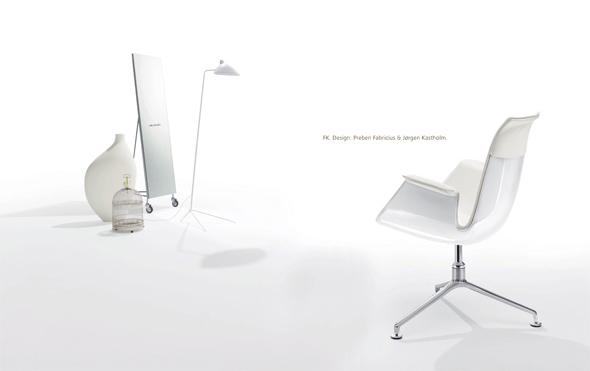 Walter Knoll Neuheiten 2010 - FK. Design: Preben Fabricius & Jorgen Kastholm