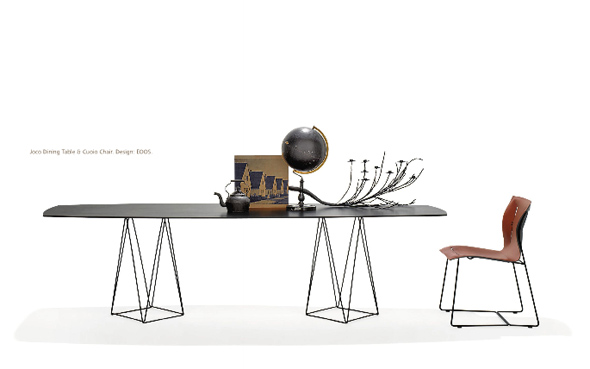 Walter Knoll Neuheiten 2010 - Joco Dining Table