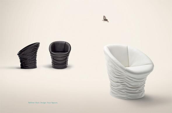 Bellow Chair. Design: Toan Nguyen