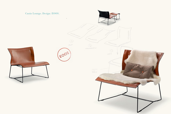 Cuoio Lounge - Design: EOOS.