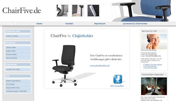 Der ChairFive in der neuen Classic Edition