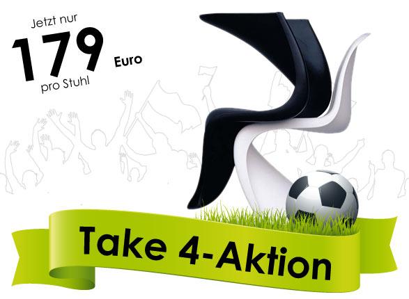 Take 4-Aktion - Chairholder WM Angebote!
