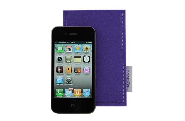 IPhone Taschen aus hochwertigem Filz von Chairholder