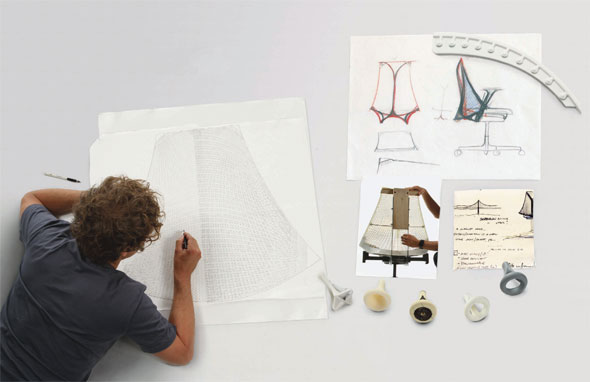Yves Béhar - Designer Sayl Chair, Herman Miller