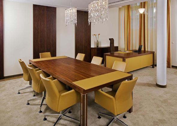Integriertes Conferencing mit ona lounge 8700 von kusch + co