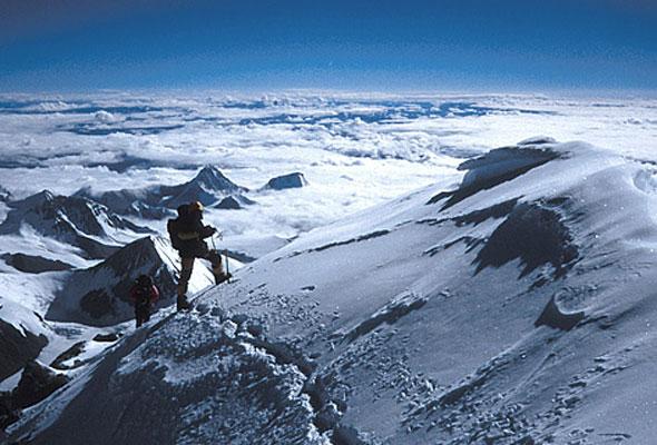 Der Aufstieg auf den Mount Everest