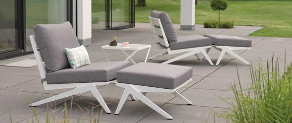 Chairholder Sitzelemente, Clubmöbel und Lounges (Jackie Aluminium)