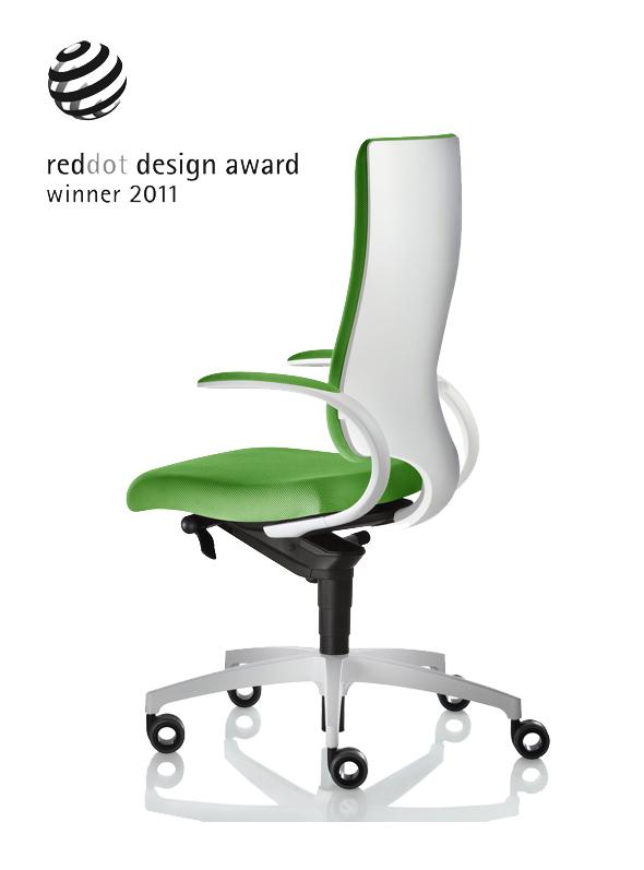 Bürostuhl design award  Der reddot design award 2011 wurde vergeben