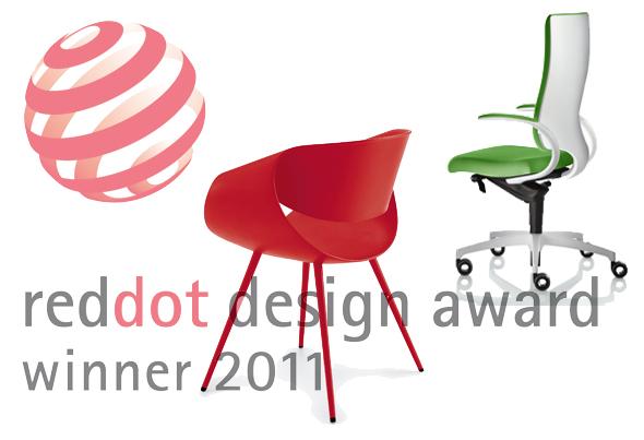 reddot design award - Zwei Designpreise für die Dauphin HumanDesign Group