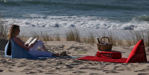 mit FIDA den Strandaufenthalt genießen