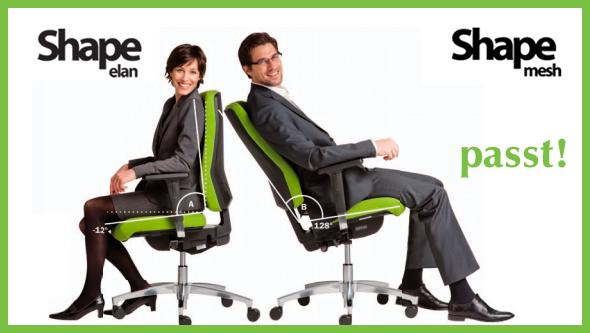 Design und Ergonomie – für jede Körpergröße!