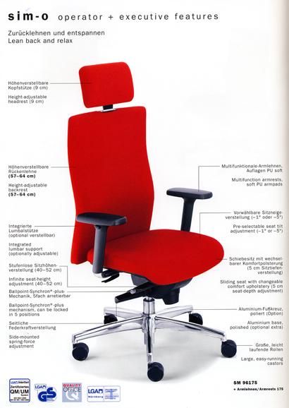 Stiftung Warentest Bürostühle mit genial ideen für ihr wohnideen