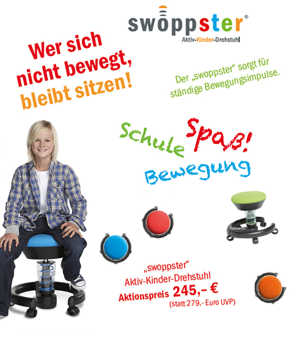 Schul-Start-Aktion 2011 - swoppster von aeris