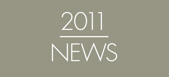 Die neuen Produkte 2011 von arper