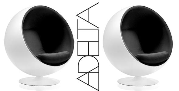 der kugelsessel von eero aarnio das original chairholder. Black Bedroom Furniture Sets. Home Design Ideas