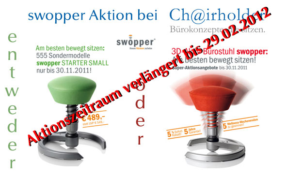 swopper Aktion vom 15.09. - 30.11.2011