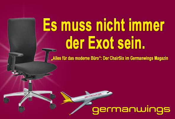 ChairSix im Germanwings Magazin