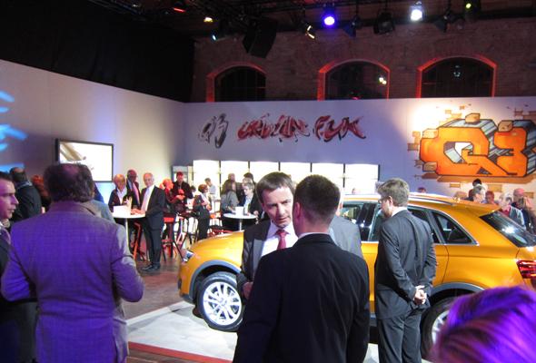 der Audi Q3 in der Urban Fun Welt