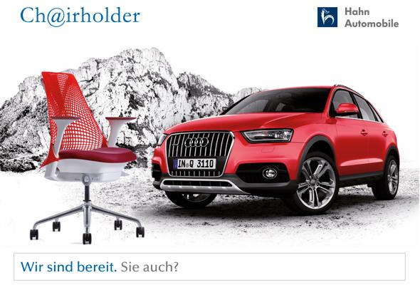 Herman Miller Sayl und der neue Audi Q3