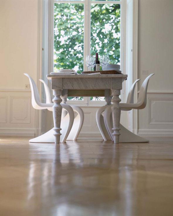original vitra panton chair verner panton 1960 bei chairholder. Black Bedroom Furniture Sets. Home Design Ideas