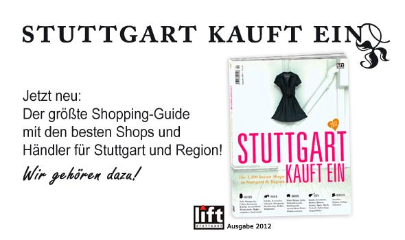 Der größte Shopping-Guide für Stuttgart und Region.