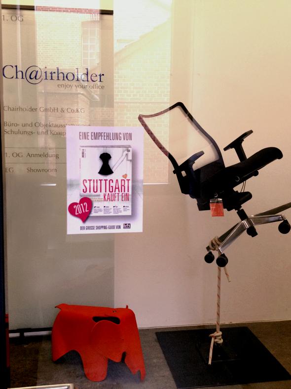 """Chairholder wurde """"Stuttgart kauft ein"""" ausgezeichnet!"""