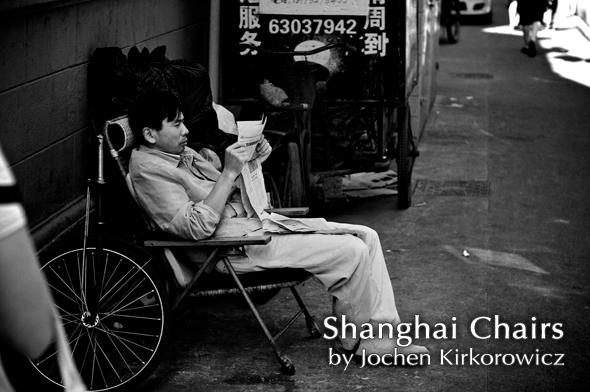 Shanghai Chairs by Jochen Kirkorowicz