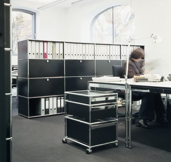 usm haller usm haller rollcontainer u4002. Black Bedroom Furniture Sets. Home Design Ideas