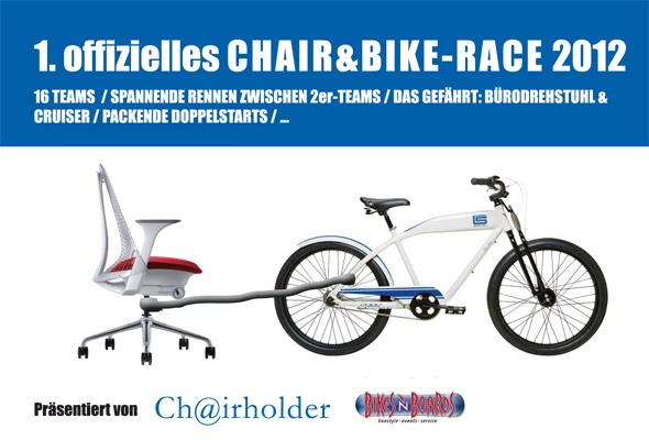 1. offizielles Chair&Bike-Race 2012