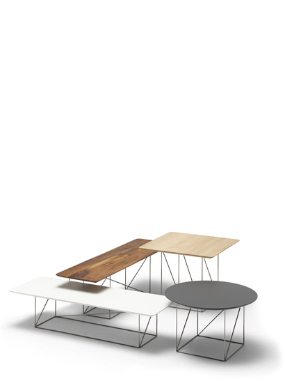 cor pilotis beistelltisch holzplatte ausf hrung w hlbar. Black Bedroom Furniture Sets. Home Design Ideas