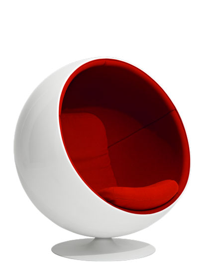 Eero Aarnio Originals - Ball Chair - Schale weiß
