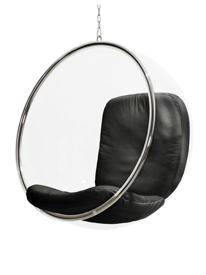Eero Aarnio Originals - Bubble Chair - Bubble Chair, Leder