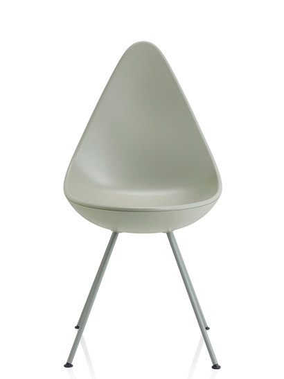 fritz hansen drop 3110 steingrau produktdetails. Black Bedroom Furniture Sets. Home Design Ideas