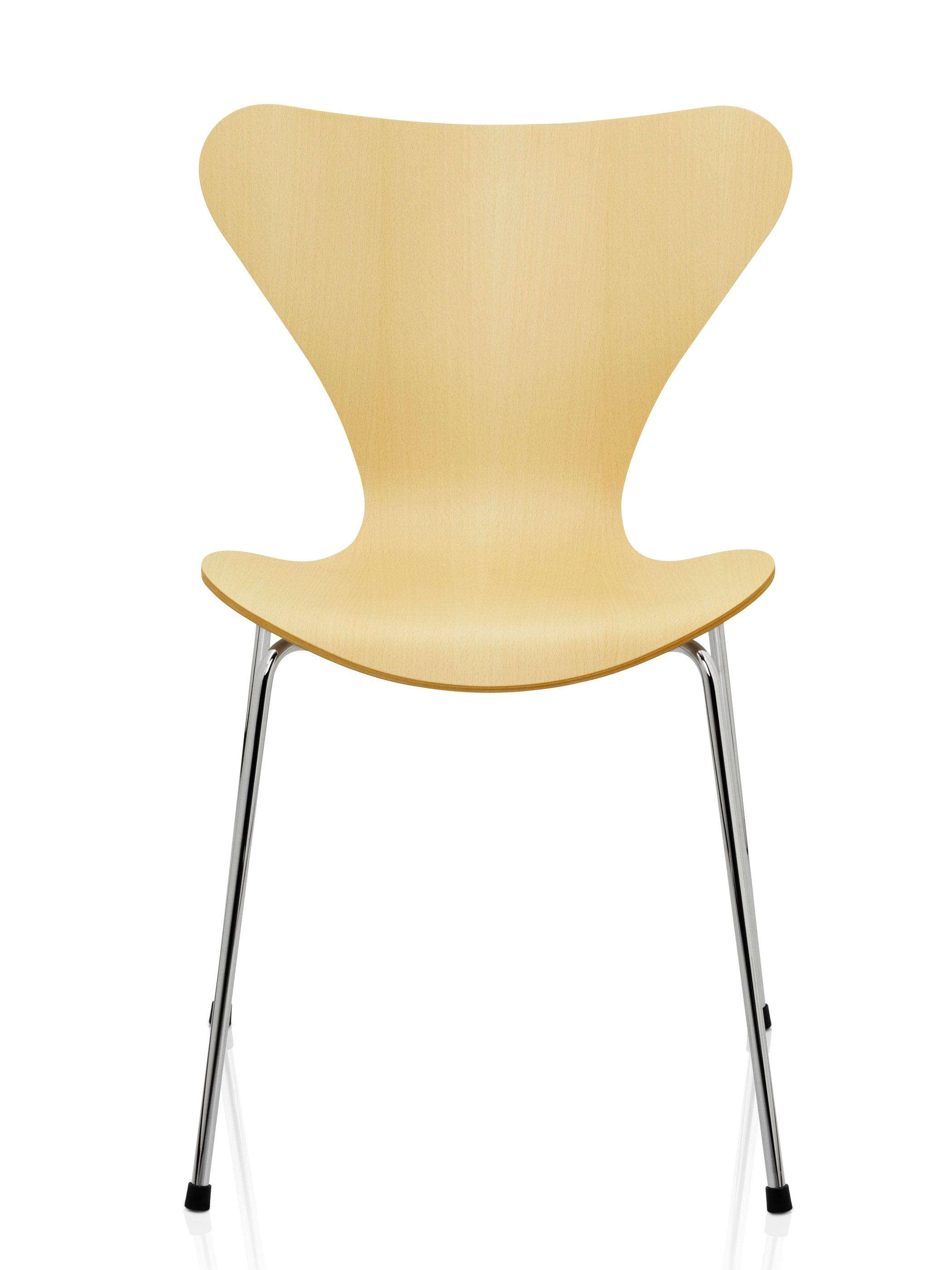 fritz hansen serie 7 3107 buche produktdetails. Black Bedroom Furniture Sets. Home Design Ideas