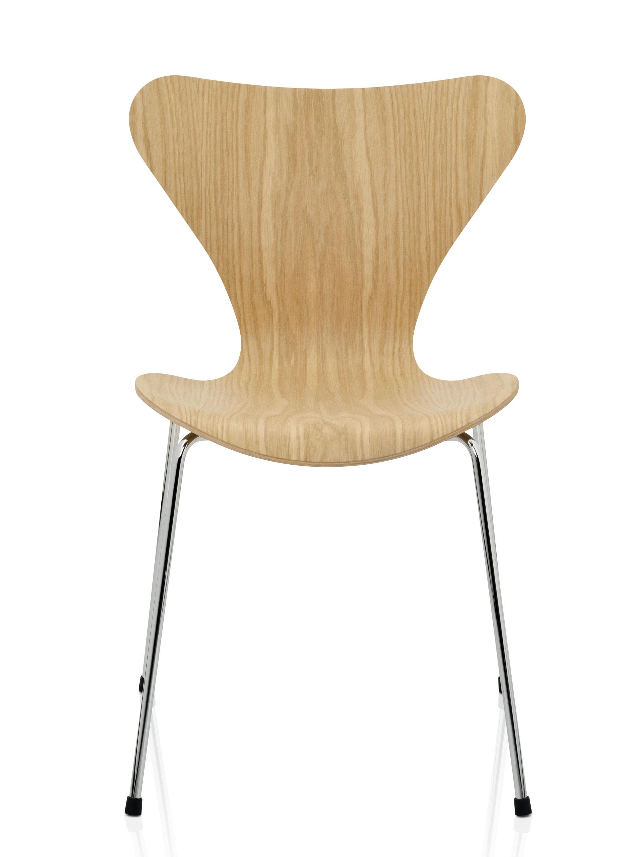 fritz hansen serie 7 3107 eiche produktdetails. Black Bedroom Furniture Sets. Home Design Ideas