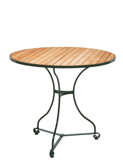 garpa fontenay tisch rund teak. Black Bedroom Furniture Sets. Home Design Ideas