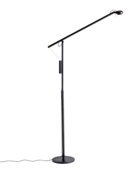 HAY - Fifty Fifty - Floor Lamp Black