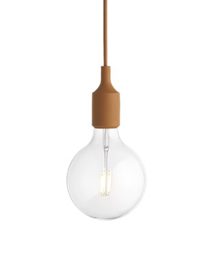 Muuto - E27 Pendant Lamp - 05288 Clay Brown