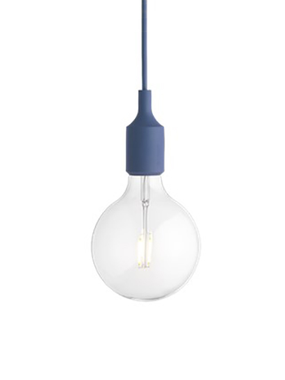 Muuto - E27 Pendant Lamp - 05290 pale blue